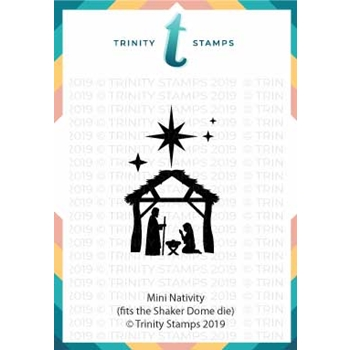 Trinity Stamps MINI NATIVITY Die Set tmd-006