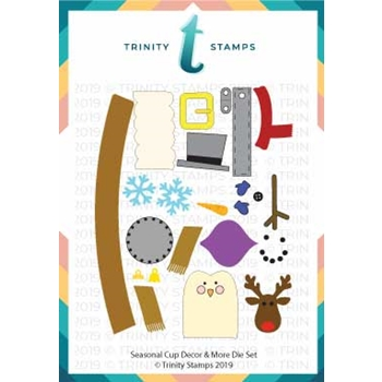 Trinity Stamps SEASONAL CUP DECOR AND MORE Die Set tmd-008