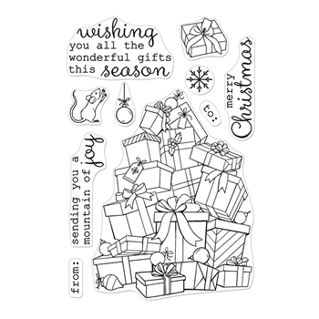 Hero Arts Clear Stamps MOUNTAIN OF JOY CM404