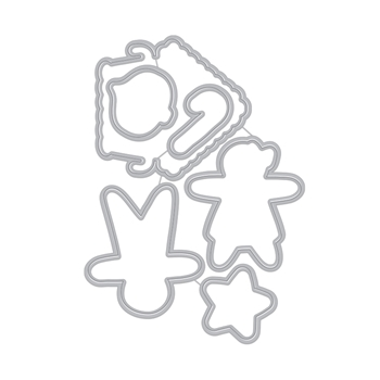 Hero Arts Frame Cuts CHRISTMAS GINGERBREAD COOKIES Dies DI710