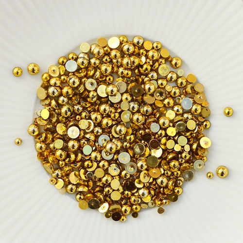 Little Things from Lucy's Cards - Gold Pearls
