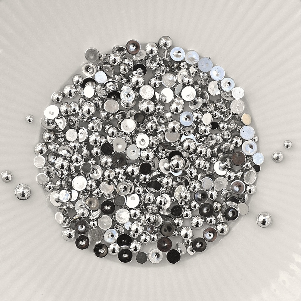 Little Things From Lucy's Cards Pearls SILVER MIX LBP23 zoom image