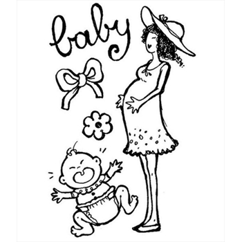 Stamperia Clear Stamps BABY wtk062