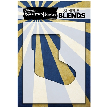 Brutus Monroe SIMPLE BLEND STOCKING Stencil bru1265