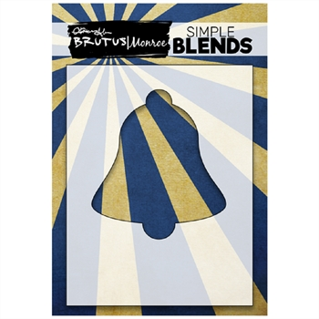 Brutus Monroe SIMPLE BLEND BELL Stencil bru1272