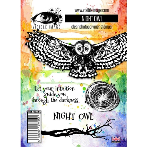 Visible Image NIGHT OWL Clear Stamp Set VIS-NOW-01 Preview Image