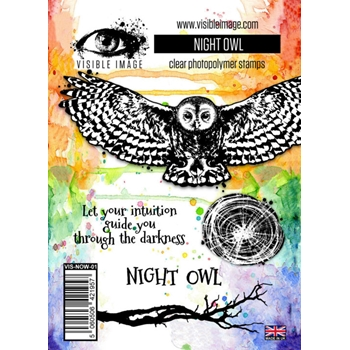 Visible Image NIGHT OWL Clear Stamp Set VIS-NOW-01