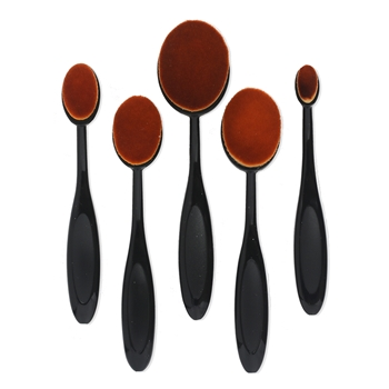 Set of 5 BLENDER BRUSHES Mixed Sizes bb05mix