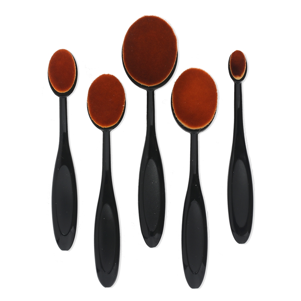 Set of 5 BLENDER BRUSHES Mixed Sizes bb05mix zoom image