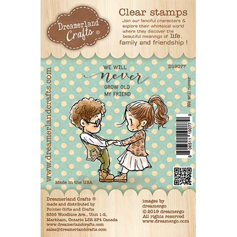 Dreamerland Crafts WE WILL NEVER Clear Stamp Set d19077 zoom image
