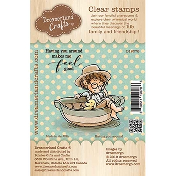 Dreamerland Crafts HAVING YOU AROUND Clear Stamp Set d19078