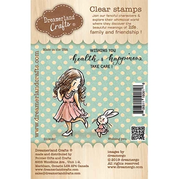 Dreamerland Crafts WISHING YOU Clear Stamp Set d19081