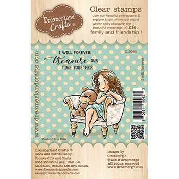 Dreamerland Crafts I WILL FOREVER Clear Stamp Set d19082
