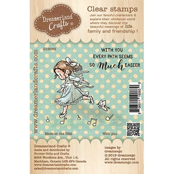 Dreamerland Crafts WITH YOU Clear Stamp Set d19083