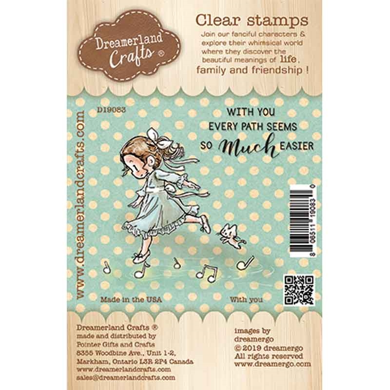 Dreamerland Crafts WITH YOU Clear Stamp Set d19083 zoom image