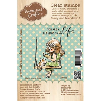 Dreamerland Crafts YOU ARE A BLESSING Clear Stamp Set d19085