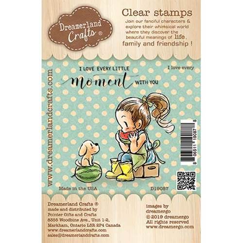 Dreamerland Crafts I LOVE EVERY Clear Stamp Set d19087 Preview Image