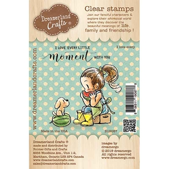 Dreamerland Crafts I LOVE EVERY Clear Stamp Set d19087