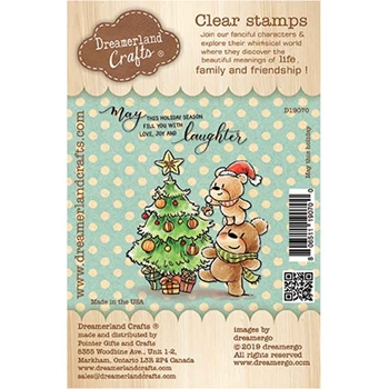 Dreamerland Crafts MAY THIS HOLIDAY Clear Stamp Set d19070