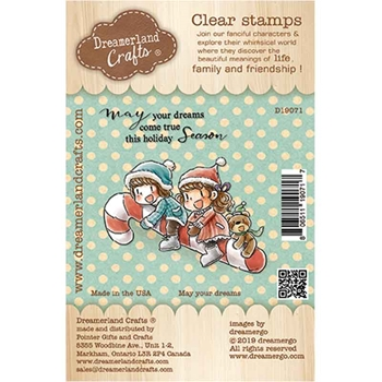 Dreamerland Crafts MAY YOUR DREAMS Clear Stamp Set d19071