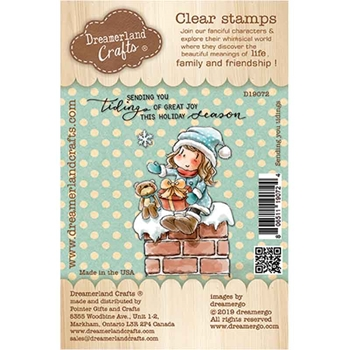 Dreamerland Crafts SENDING YOU TIDINGS Clear Stamp Set d19072