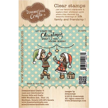 Dreamerland Crafts LET'S ENJOY Clear Stamp Set d19073