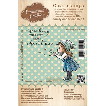 Dreamerland Crafts WISHING YOU A VERY Clear Stamp Set d19075