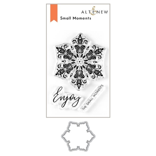 Altenew SMALL MOMENTS Clear Stamp and Die Bundle ALT3628 Preview Image