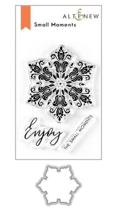 Altenew SMALL MOMENTS Clear Stamp and Die Bundle ALT3628 zoom image
