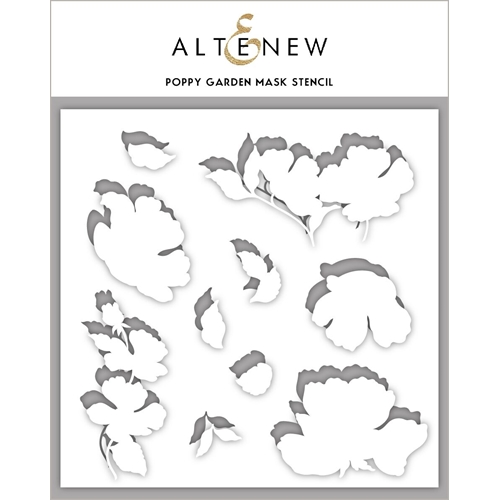 Altenew POPPY GARDEN Masked Stencil ALT3623 Preview Image