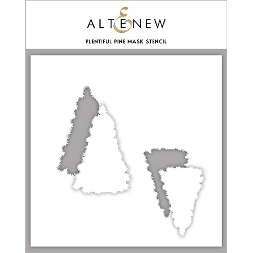 Altenew PLENTIFUL PINE Mask Stencil ALT3618 Preview Image