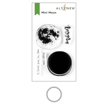 Altenew MINI MOON Clear Stamp and Die Bundle ALT3615