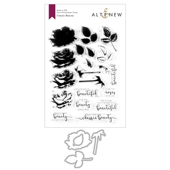 Altenew CLASSIC BEAUTY Clear Stamp and Die Bundle ALT3607