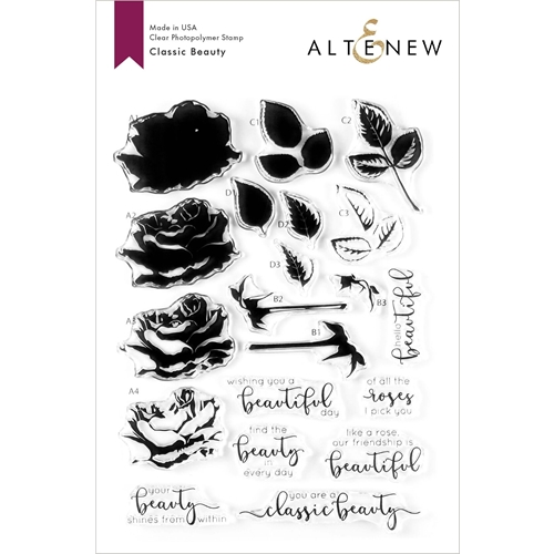 Altenew CLASSIC BEAUTY Clear Stamps ALT3604 Preview Image