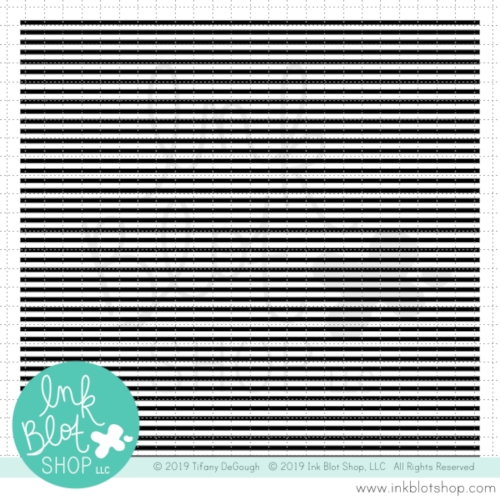 Ink Blot Shop Clear Stamp Set SLIM STRIPES BACKGROUND inbl082 Preview Image