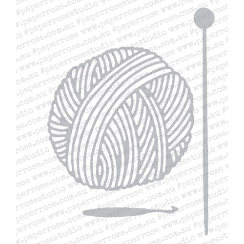 Paper Rose BALL OF WOOL Craft Dies 18436 Preview Image