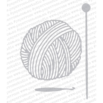 Paper Rose BALL OF WOOL Craft Dies 18436