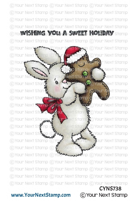 Your Next Stamp CHRISTMAS COOKIE Clear cyns738 zoom image
