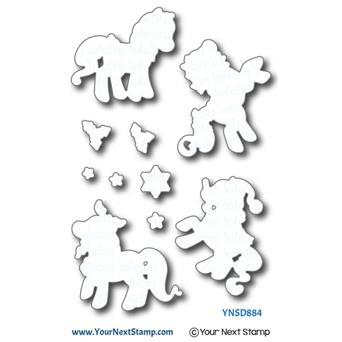 Your Next Die HOLIDAY PONIES ynsd884 Preview Image