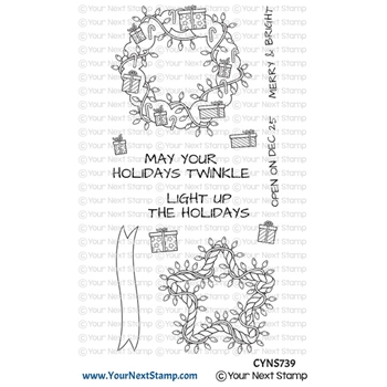 Your Next Stamp HOLIDAY TWINKLE Clear cyns739