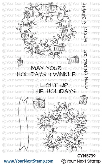 Your Next Stamp HOLIDAY TWINKLE Clear cyns739 zoom image