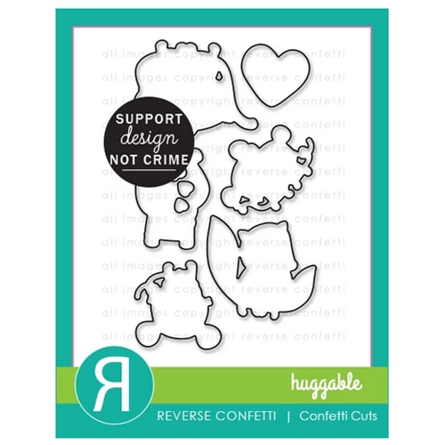 Reverse Confetti Cuts HUGGABLE Dies Preview Image