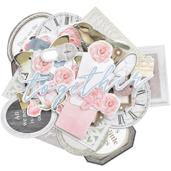 Kaisercraft LADY LIKE Collectables Die Cut Shapes CT974