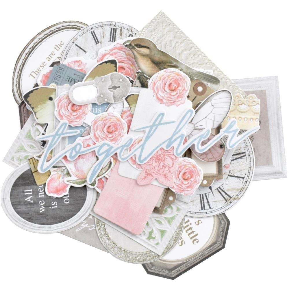 Kaisercraft LADY LIKE Collectables Die Cut Shapes CT974 zoom image
