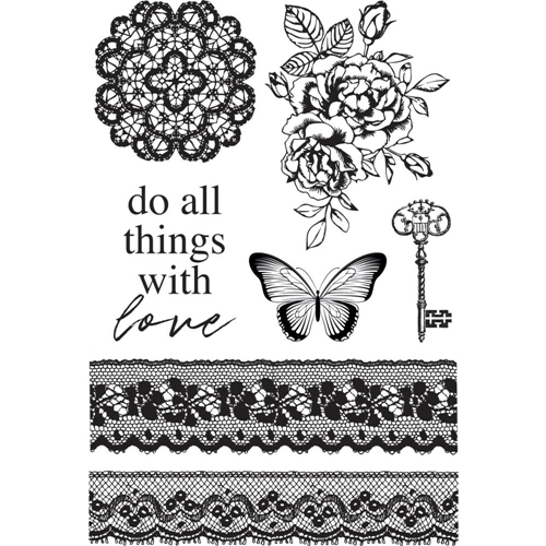 Kaisercraft LADY LIKE Clear Stamps CS374 Preview Image