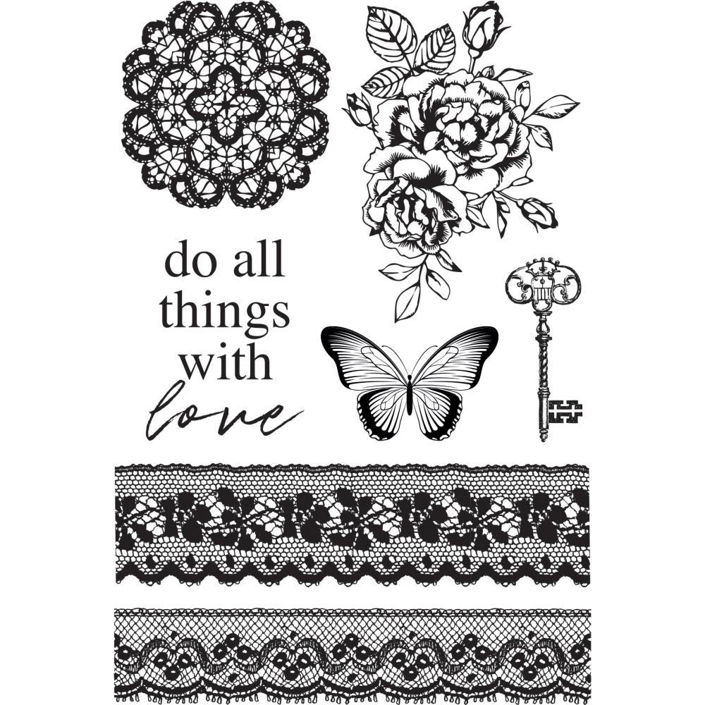 Kaisercraft LADY LIKE Clear Stamps CS374 zoom image