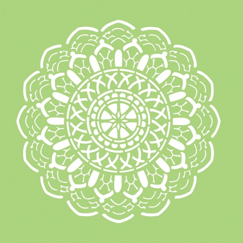 Kaisercraft CROCHET DOILY 6x6 Inch Stencil IT499 Preview Image
