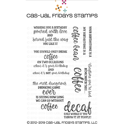 CAS-ual Fridays CUP REFILLS Clear Stamps CFS1905 Preview Image