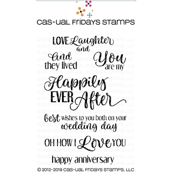 CAS-ual Fridays EVER AFTER Clear Stamps CFS1906