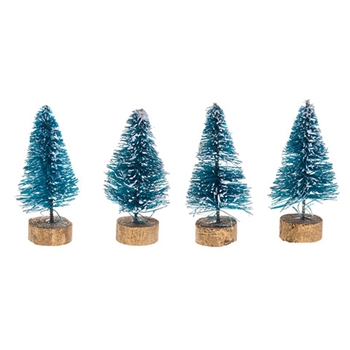 Darice MINI SISAL TREES 4 Piece 16460